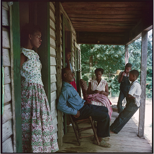 Willie Causey and Family, Shady Grove, Alabama