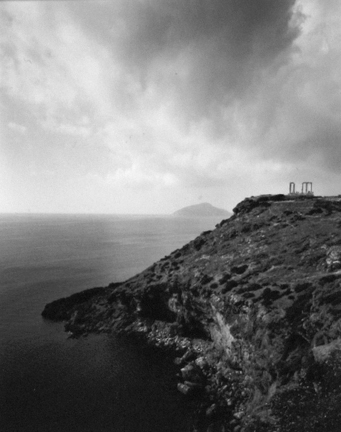 Temple of Poseidon, From