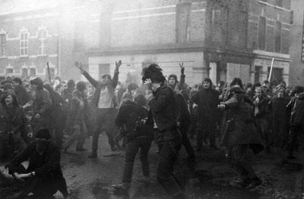 Bloody Sunday, One Minute before British Paratroop Fires