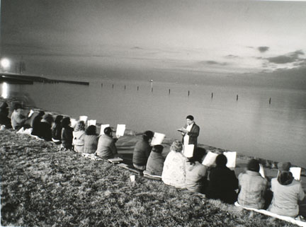 Easter Sunrise Service, East Side, from Changing Chicago