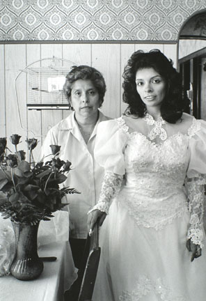 Mother and Daughter on Wedding Day, from Changing Chicago