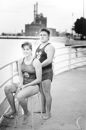 Two Calumet Park Life Guards