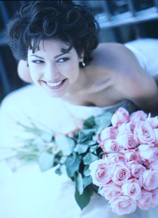 Jacqueline With Roses