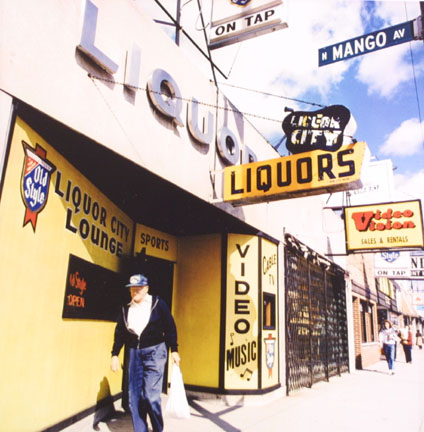 Liquor City Lounge, W. Belmont Avenue, from Changing Chicago