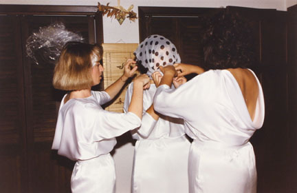 Blindfolded Ritual at the Wedding of Maria Hondros, from Changing Chicago