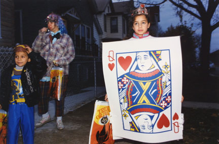The Queen of Hearts: Halloween in West Lakeview, from Changing Chicago