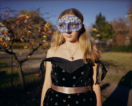 Girl in Blue Mask (Sarah)