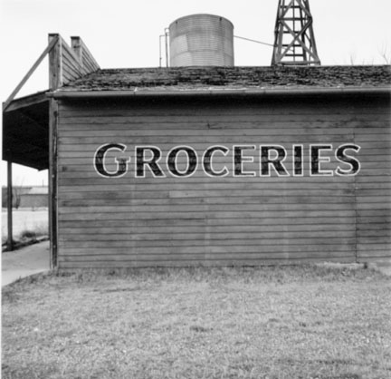 Abandoned Grocery Store, Greenville, New Mexico