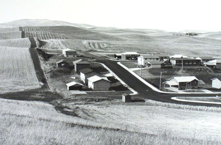 Housing Development Near Pullman, Washington