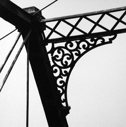 Iron Bridge Detail, Middlefield, New York