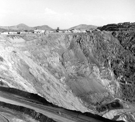 Open Pit Copper Mine, Bisbee, Arizona