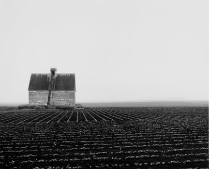 Corn Crib Near Grand Junction, Iowa