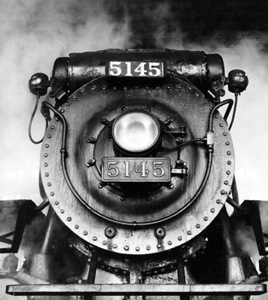 Canadian Pacific Railway, Locomotive Number 5145 In Roundhouse, Montreal, Quebec
