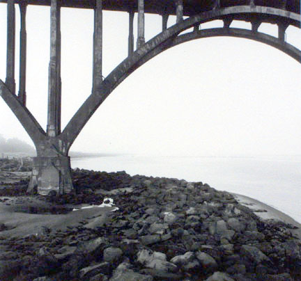 Approach Span, Yaquina Bay Bridge, Newport, Oregon