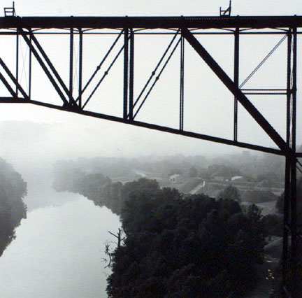 Tyrone Bridge, Kentucky River, Tyrone, Kentucky