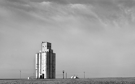 Grain Elevator, Stickney, Kansas