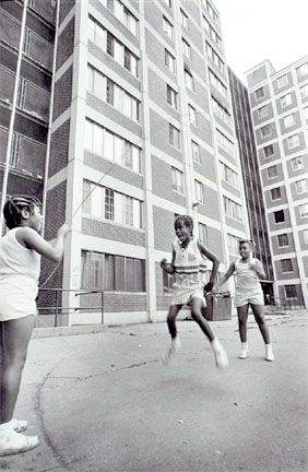 Skipping Rope, Cabrini-Green, from Changing Chicago