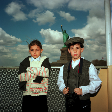 Fifth Grade Trip to Ellis Island, New York, New York