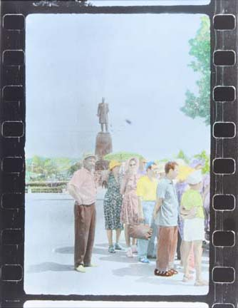 Untitled (tourists off-center), from the