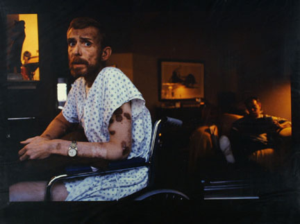 Ken Meeks, Patient With AIDS, Being Cared For By A Friend, San Francisco, California