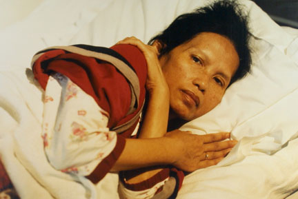 Sopia Sisou, A Cambodian Refugee With AIDS, Contracted the Virus From Her Husband, An Intravenious Drug User