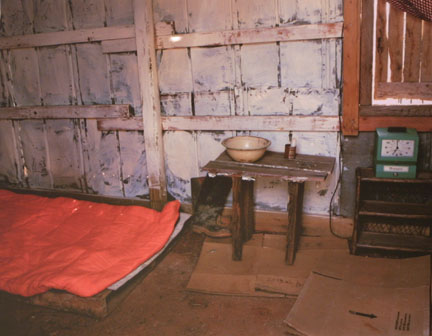Global Village: Bedroom with Wash Bowl