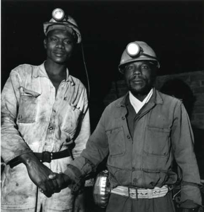 Family of Miners, Zimbabwe 51-11 (diptych)