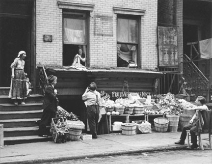 Gypsies and Vegetable Dealer-Pitt.St.