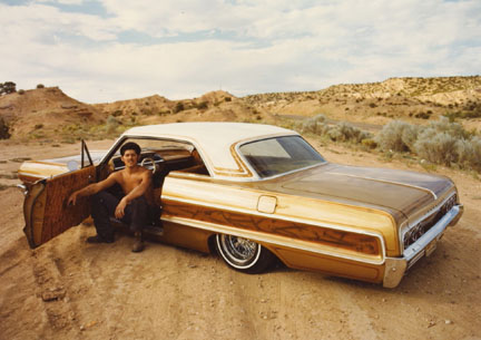Bennino Martinez, Chimayo, '64 Chevy, from the
