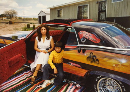 Irene Jaramillo, San Juan Pueblo, '60 Ford LTD, from the