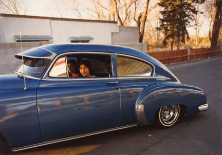 Donaldo Valdez, El Guique, '49 Chevy, from the