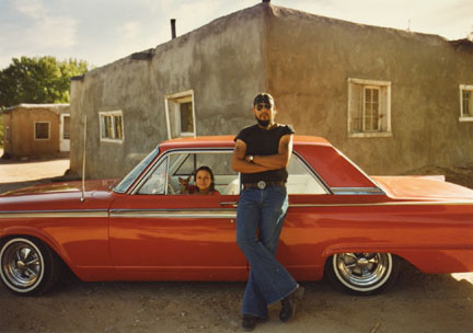 Franke Maestas and Vangie Martinez, Chimayo, '62 Ford Fairlane, from the