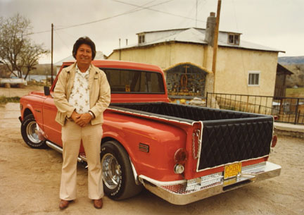 Ross Martinez, Chimayo, '72 Chevy Pick-Up, from the