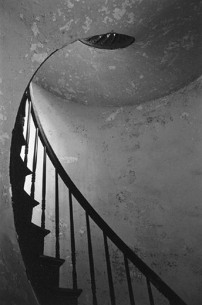 Stairwell, New Orleans, From