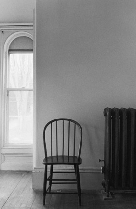 Window and Chair, Victorian House, Maine, From