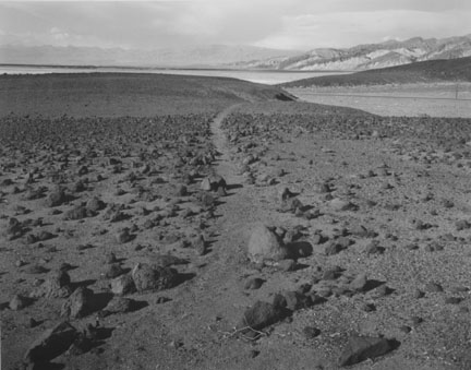 Death Valley: Ancient Footpath Along the Shore of a Departed Lake, from the