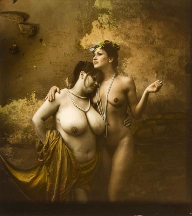 Jan Saudek's Friends; Just Another Two Sisters