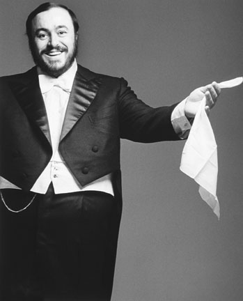 Luciano Pavarotti,  from