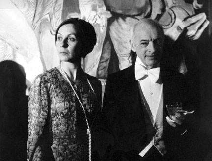 Mr. and Mrs. Saul Bellow at Nobel Celebration