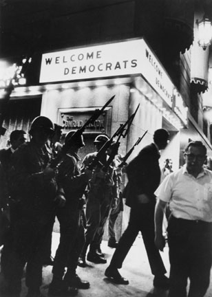 Hilton Hotel, Michigan Avenue, August 1968, Democratic Convention