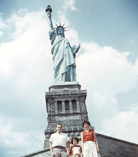 Florence was pregnant with our second child, Harmon, when we visited a famous landmark in the NY Harbor. We both grew up in NY but had never visited it.