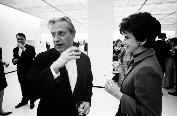 At a gallery showing of my Chicago pictures, Florence found time to chat about his new book with our prolific friend, Studs Terkel.