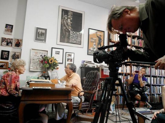 "The head of Florence's Antiquarian Bookseller's Association was her old friend, the renowned Lincoln scholar, Dan Weinberg. Four weeks before Florence died, Weinberg called to gingerly ask if Florence was well enough to be filmed for their organization's archive. ""Of course,"" Florence said, and cheerily had her beloved care-giver Kalina Borissova dress her, put on her make-up and  help her into my car for her last trip to Titles, Inc. [...]"