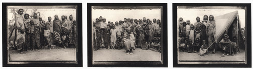 Gabbra Matriarch, Seated at Center, with Gabbra Women and Children