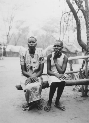 Rachel and Ochol, Family Section, Sudanese Refugee Camp, Lokichoggio, Kenya