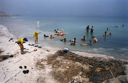 Dead Sea, Israel, from the