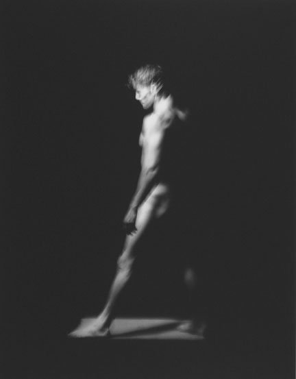 Triptych 3, Three Studies for the Spectralisation of a Figure in Movement, 23 July 1991, Chicago Studio