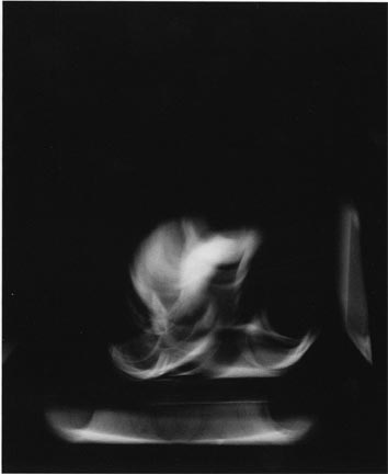 Triptych 4, Three Studies for the Spectralisation of a Figure in Movement, 23 July 1991, Chicago Studio