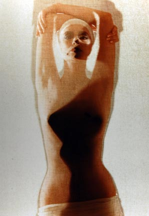 Painted Body Series, 26 January 1982, Chicago Studio