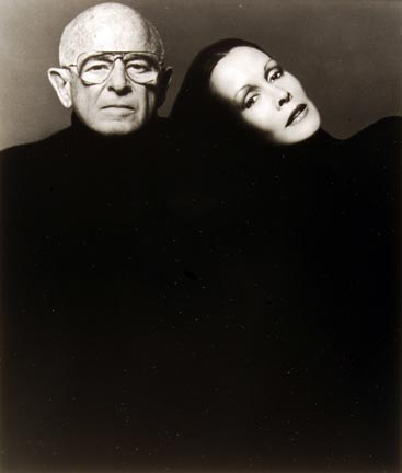 Irving and Mary Lazar, Literary Agents, 07 April 1977, New York Studio